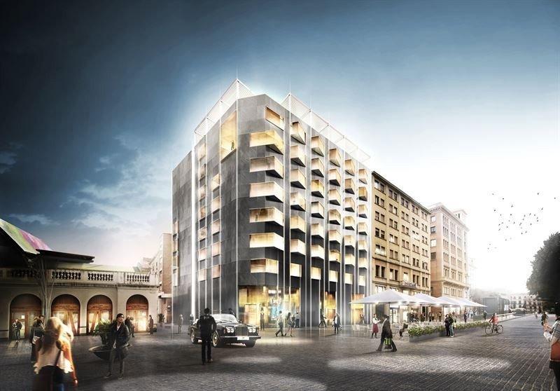 El nuevo Edition Barcelona ocupará un edificio de oficinas en el que se distribuirán 100 habitaciones.