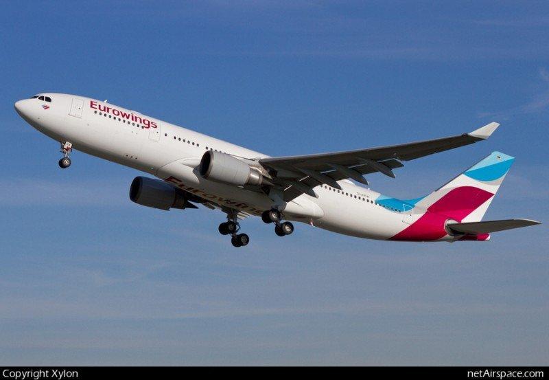 Eurowings busca posicionarse como tercera low cost europea tras su expansión inicial (Foto: Xylon/net Airspace.com).