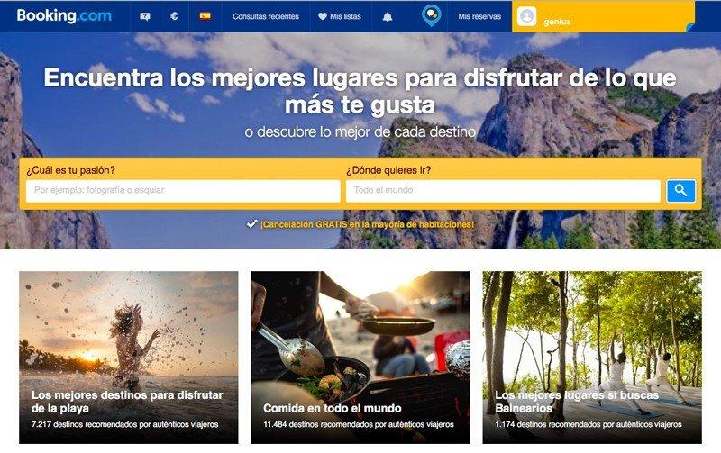 Google, TripAdvisor y Booking.com también quieren inspirar viajes