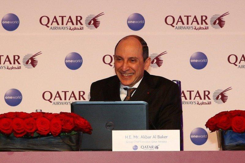 El CEO y presidente de Qatar Airways, Akbar Al Baker, hizo el anuncio en el marco de la Feria Internacional de Turismo de Berlín (ITB).