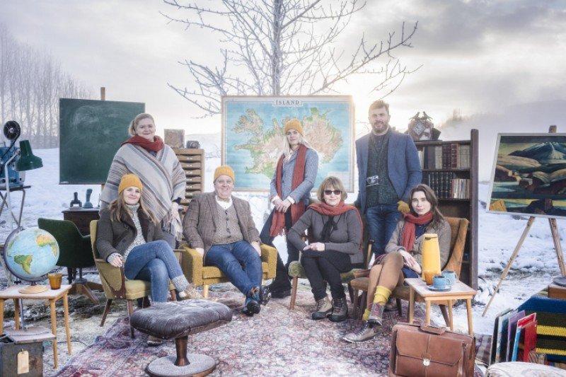 Los 'profesores' de la 'Academia para turistas' de Islandia. Foto: Promote Iceland