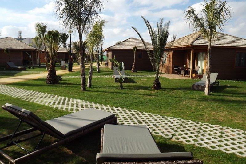 Los bungalows siguen siendo el producto más demandado en los campings, captando más del 70% de las reservas. En la imagen, Marjal Costa Blanca Camping Resort.