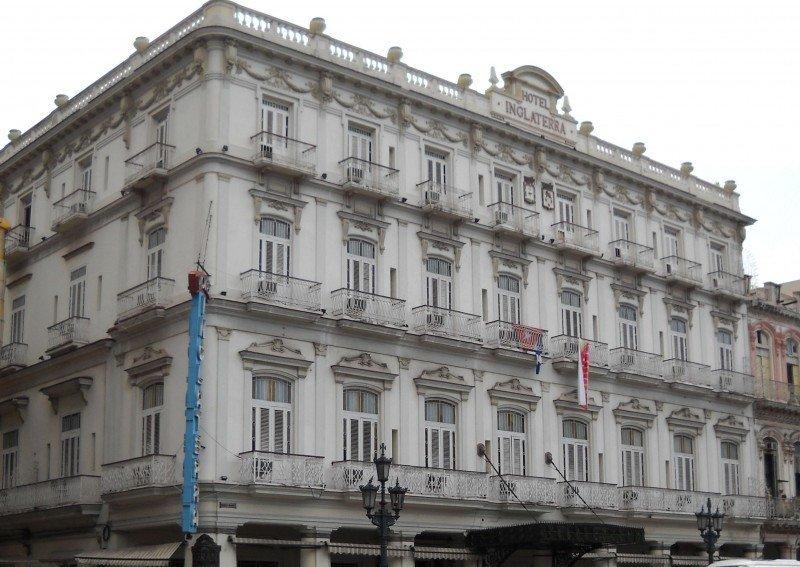 El Hotel Inglaterra es el más veterano de Cuba.