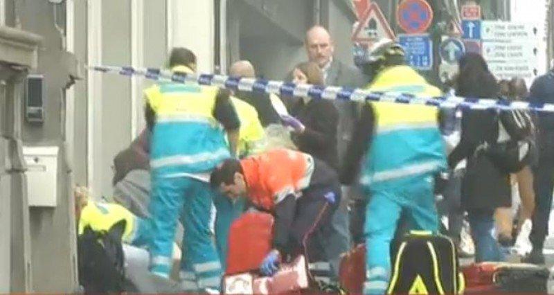 Otra explosión con heridos en el metro de Bruselas