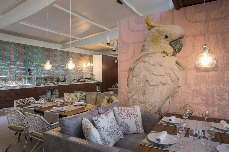 Restaurante Portofino, en el Grand Palladium Ibiza Resort and Spa.