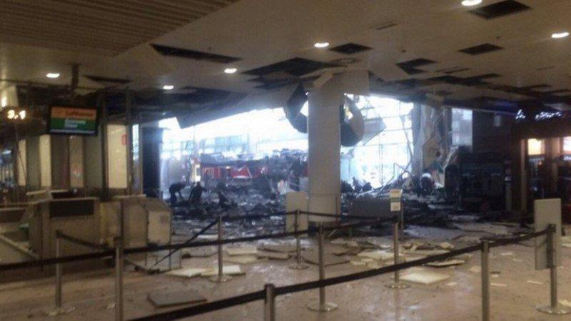 El Aeropuerto de Bruselas Zaventem continúa cerrado por los daños sufridos y la investigación forense en curso (Foto AFP).