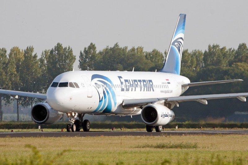 Airbus A320 de Egyptair, modelo del avión secuestrado.