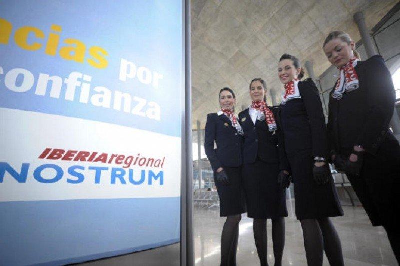 Air Nostrum selecciona TCP en Madrid este miércoles
