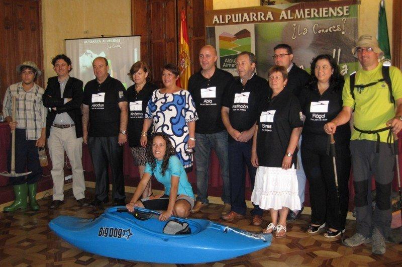 Imagen de archivo de un acto organizado por la Alpujarra Almeriense.