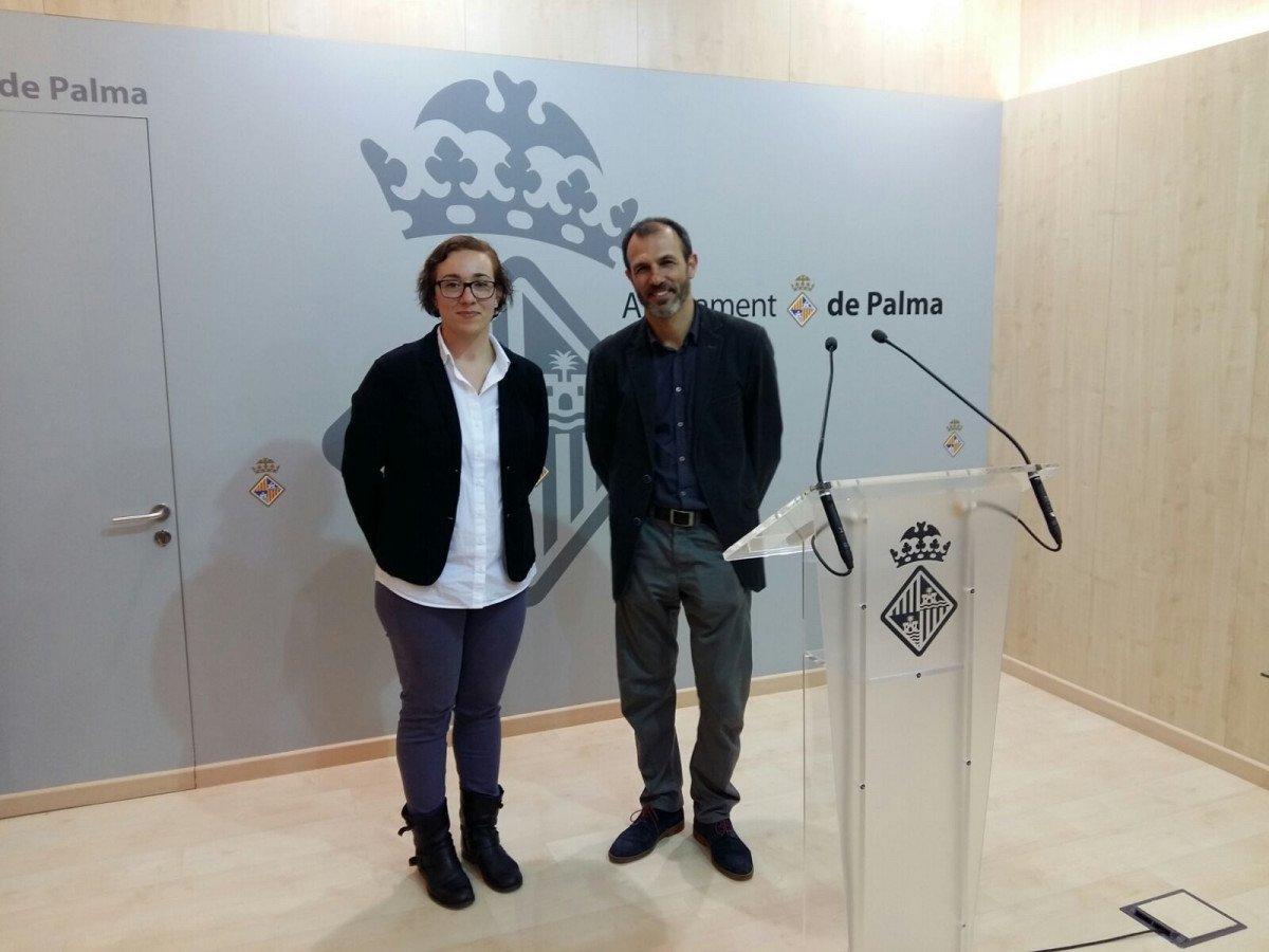Joana Adrover y Biel Barceló.