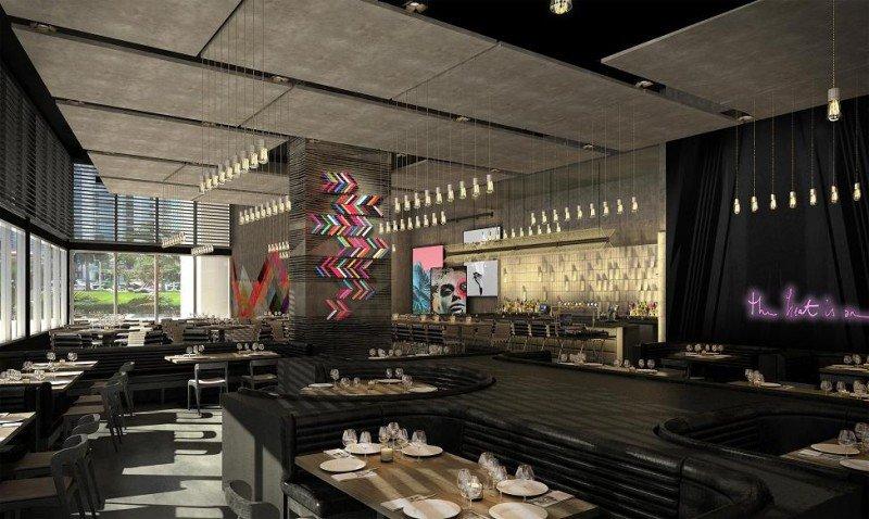 El diseño del ME Miami refleja la enérgica y vibrante personalidad de la ciudad.