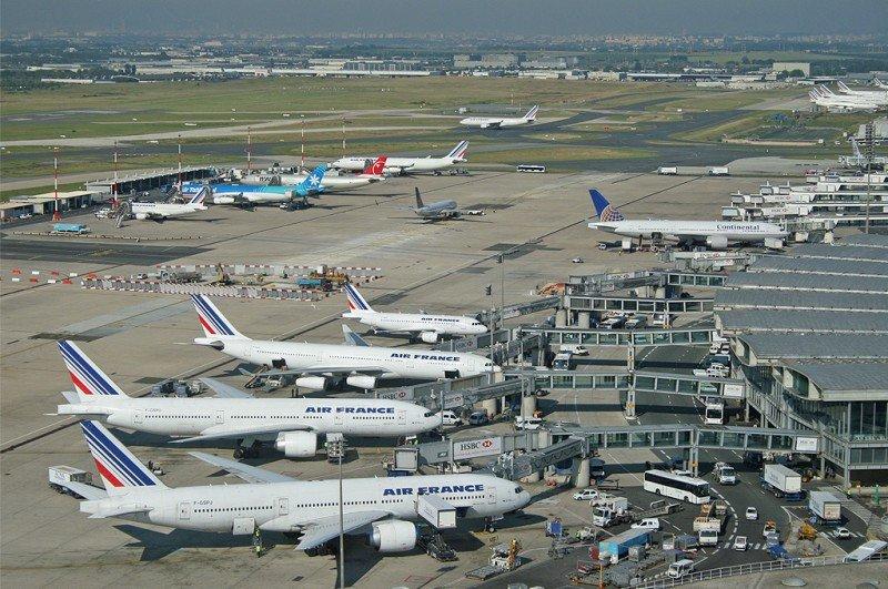 Aeropuerto de Paris-Charles de Gaulle.