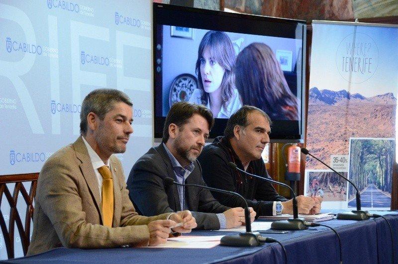 Presentación del balance anual de la Tenerife Film Commission.