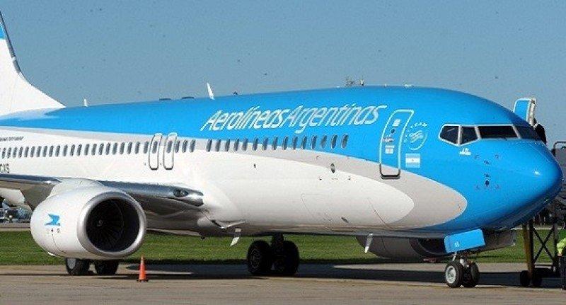 Aerolíneas Argentinas con menos vuelos en el Corredor Petrolero.