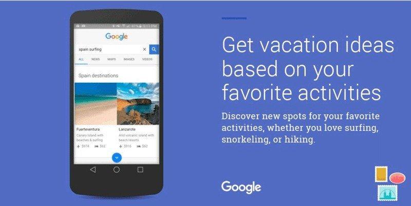 Google, TripAdvisor y Booking también quieren inspirar viajes