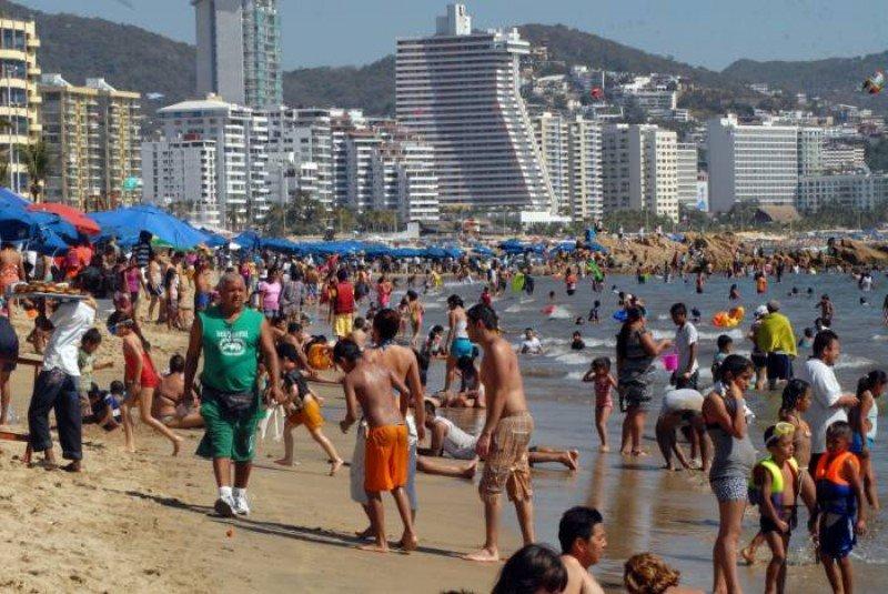 Acapulco, uno de los tres destinos más visitados de México.