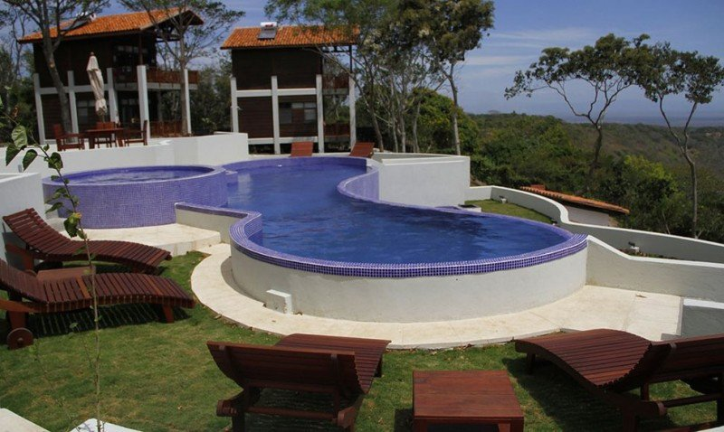 Inauguran hotel ecológico junto a un cráter en Nicaragua