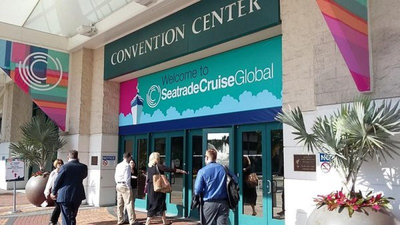Seatrade Cruise Global en Fort Lauderdale.