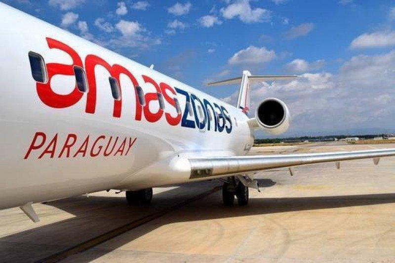 Amaszonas Paraguay inicia vuelos internacionales con ruta a Montevideo