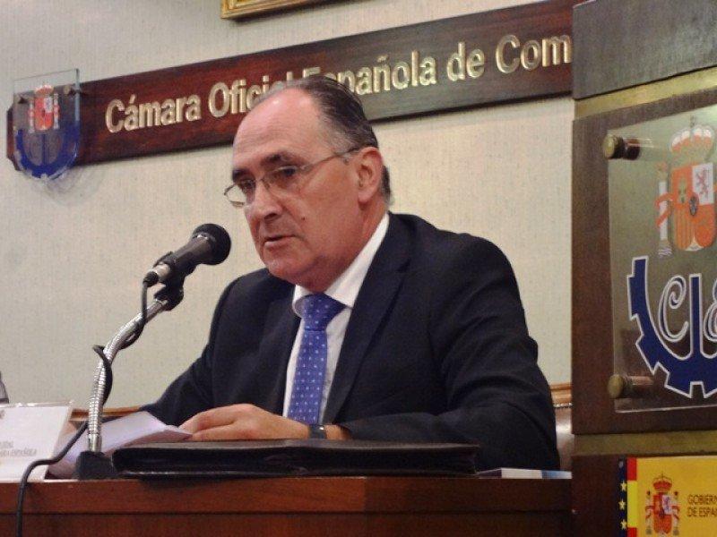 Fernando Vidal, presidente de la Cámara Española de Comercio en Uruguay.