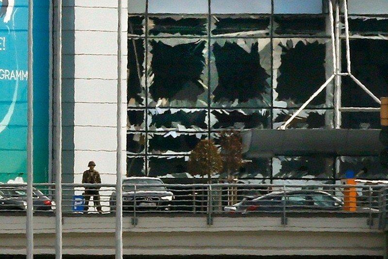 La estructura del aeropuerto de Bruselas no sufrió daños irreversibles