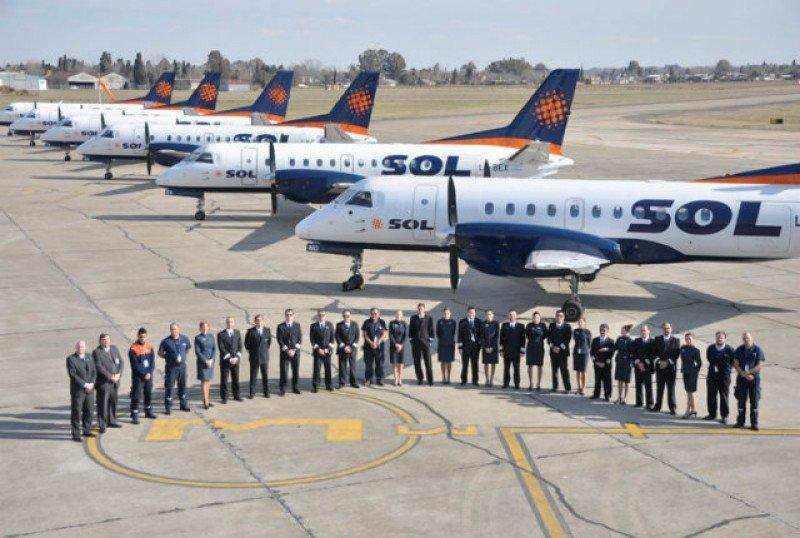 Sol Líneas Aéreas confirma cese de operaciones por falta de viabilidad