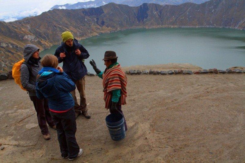 Ecuador quiere guías especializados para ser potencia turistica (Foto: MINTUR)