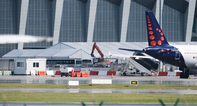 El Aeropuerto de Bruselas, listo técnicamente para reanudar operaciones (Foto: Sputnik News).