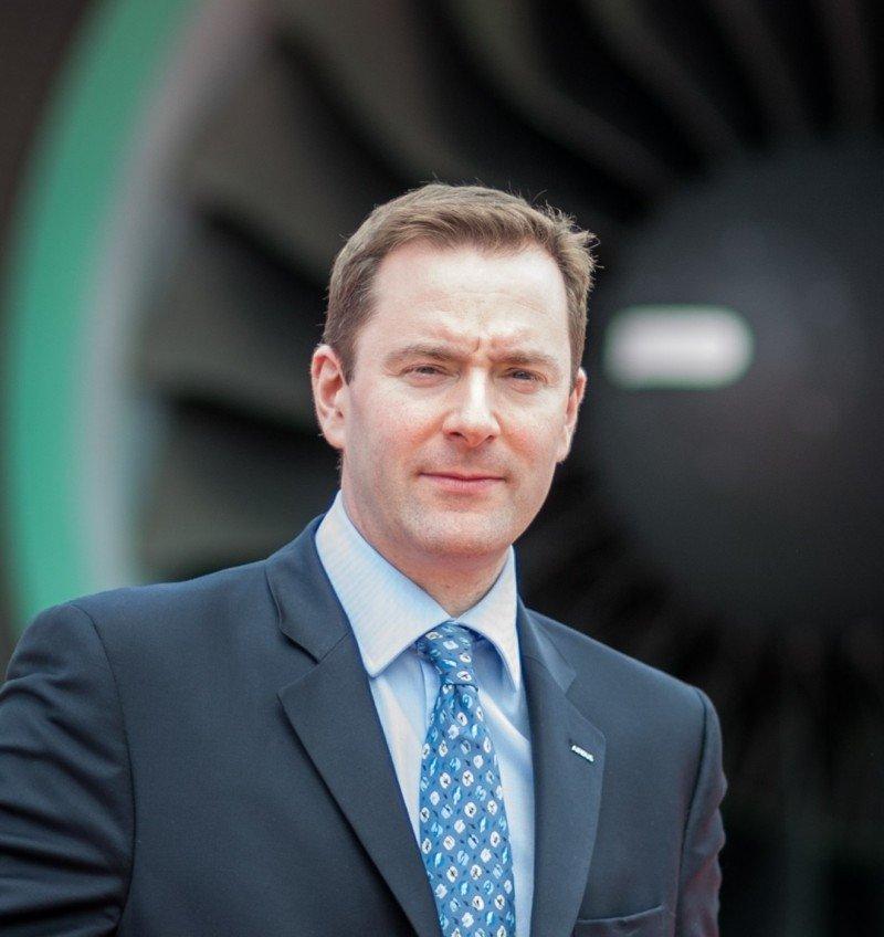 Paul Kahn, el presidente del Grupo Airbus del Reino Unido.