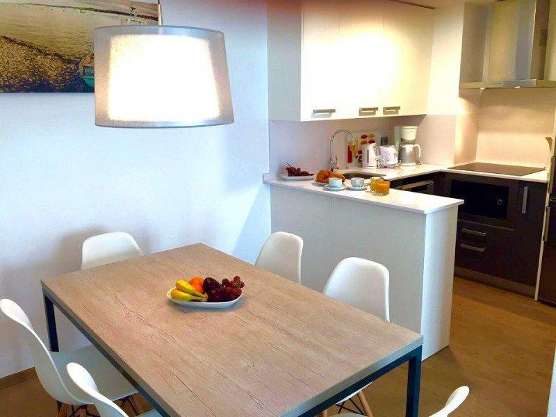 Los apartamentos cuentan con cocina totalmente equipada.
