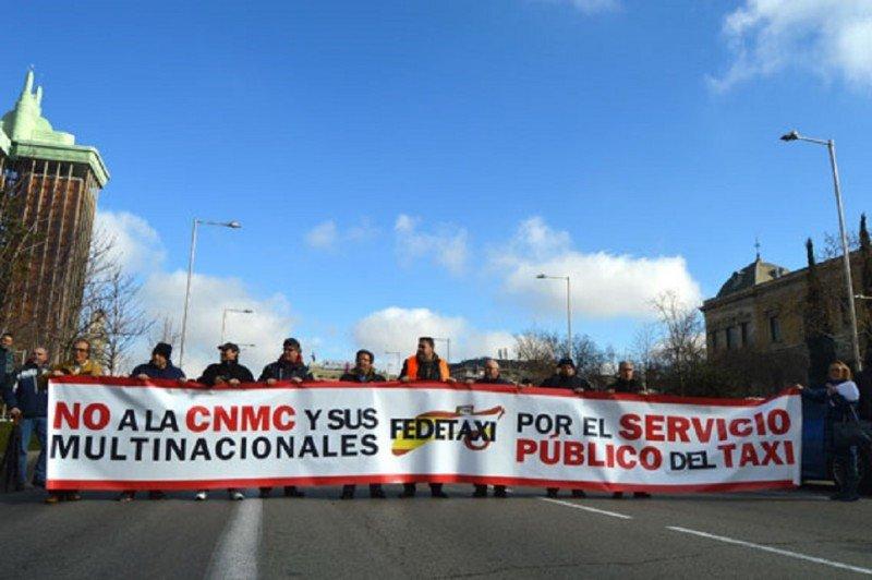 Los taxistas de España, preparados para enfrentar a Competencia, advierte Fedetaxi
