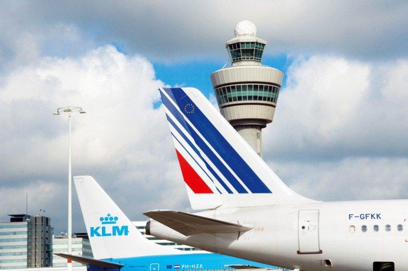 Air France-KLM transporta 19,9 M de pasajeros hasta marzo, un 4,6% más