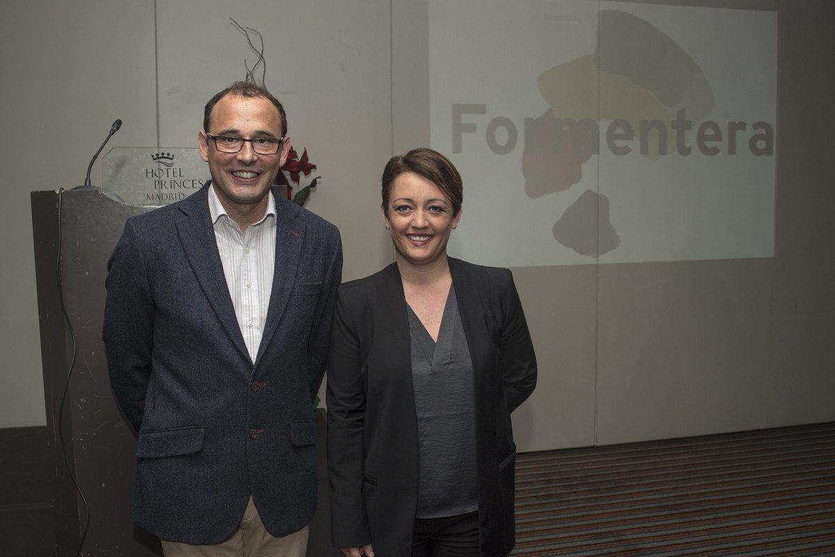 Carlos Bernús y Alejandra Ferrer, en Madrid. Foto Miguel Ángel Muñoz Romero.