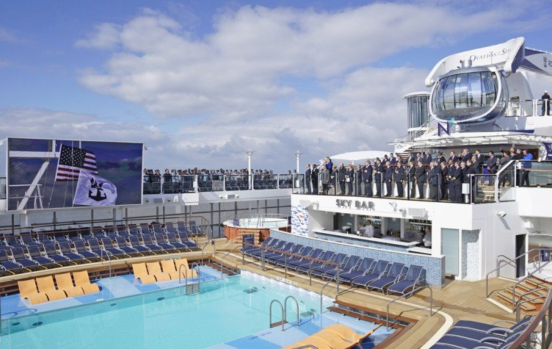 Ovation of the Seas se suma a la flota de Royal Caribbean