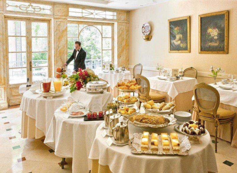 """En los Relais Chateaux, como el hotel Orfila en Madrid, dan respuesta unos clientes que """"están buscando una experiencia culinaria y un componente emocional""""."""