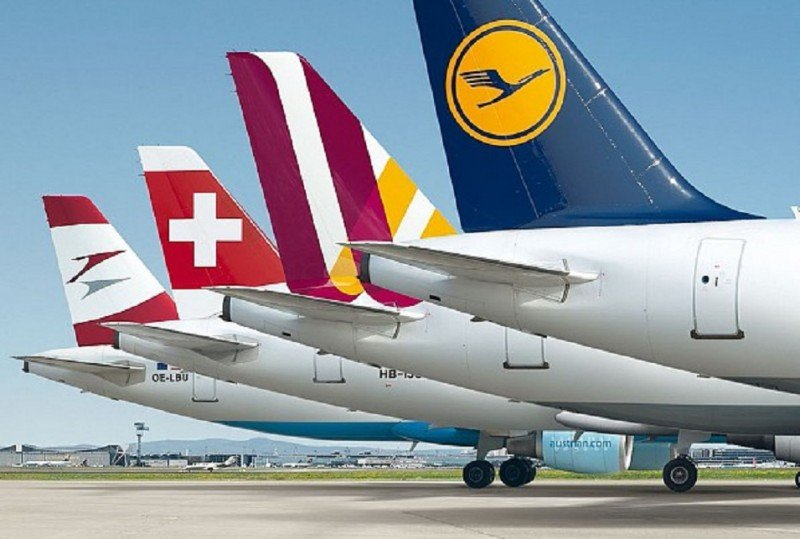 Grupo Lufthansa aumenta su tráfico un 3,6% y su nueva low cost un 10,5%
