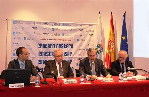 Presentación en Madrid de los cruceros por las costas de Galicia.