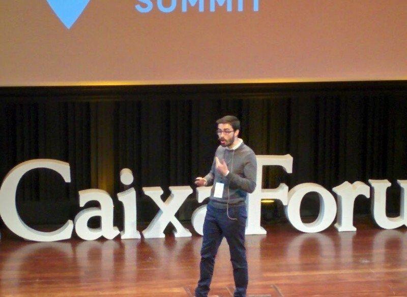 Carles Lloret, de Uber, durante su intervención en la Barcelona Tourism Summit.