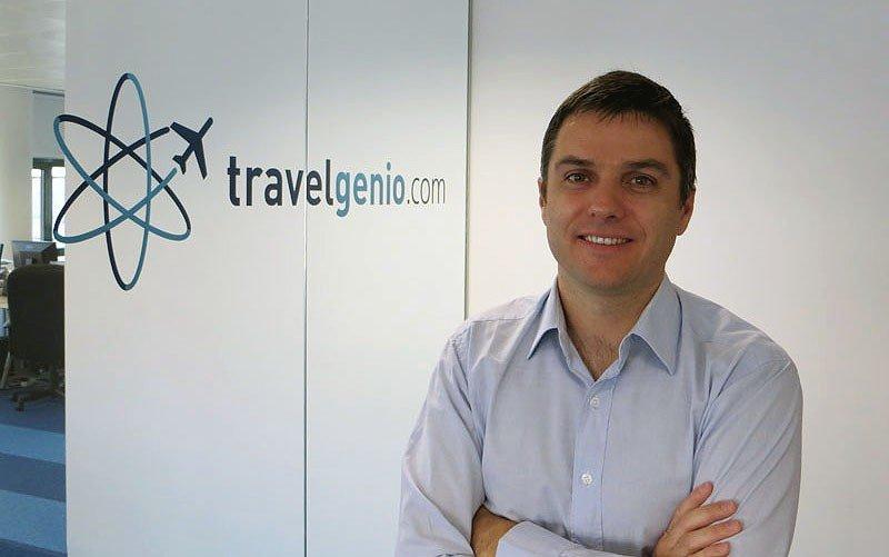 Mariano Pelizzari, CEO y fundador de Travelgenio.