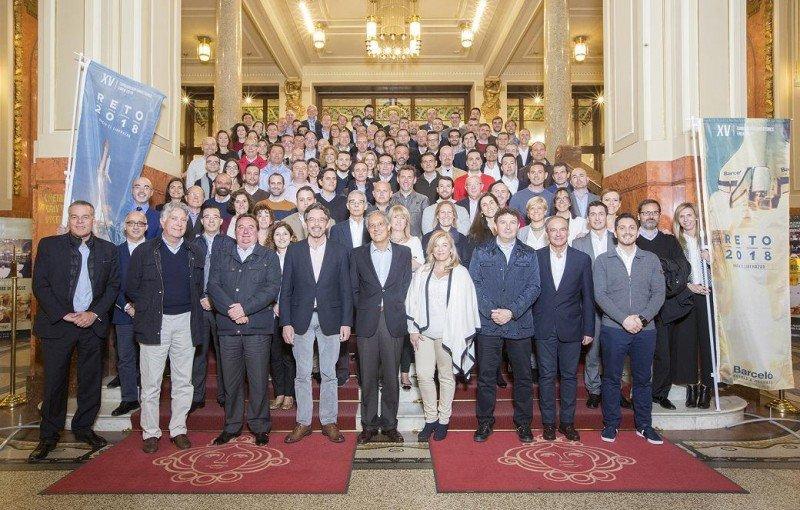 Foto de familia de la XV Convención anual de directores de hotel de Barceló en la región EMEA.