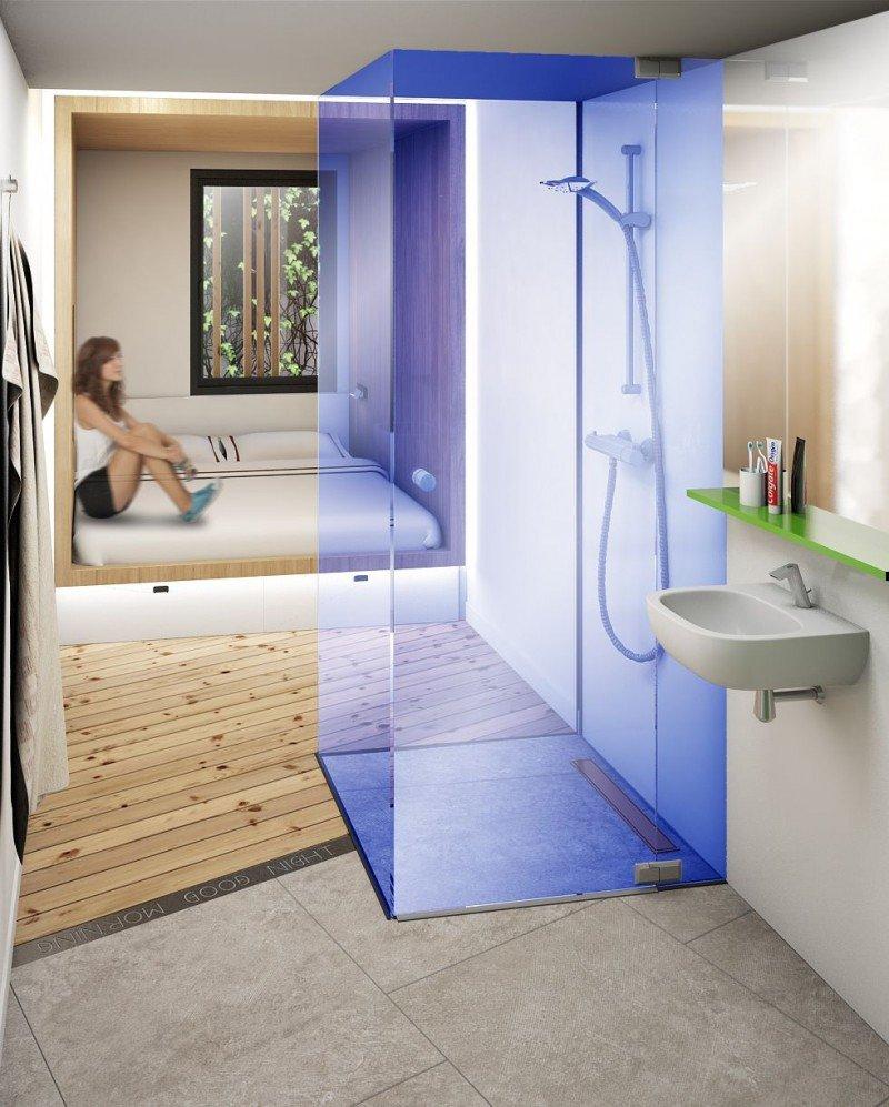 En los nuevos hoteles cápsula se habilitarán habitaciones dobles y familiares para responder a las necesidades de todo tipo de público.