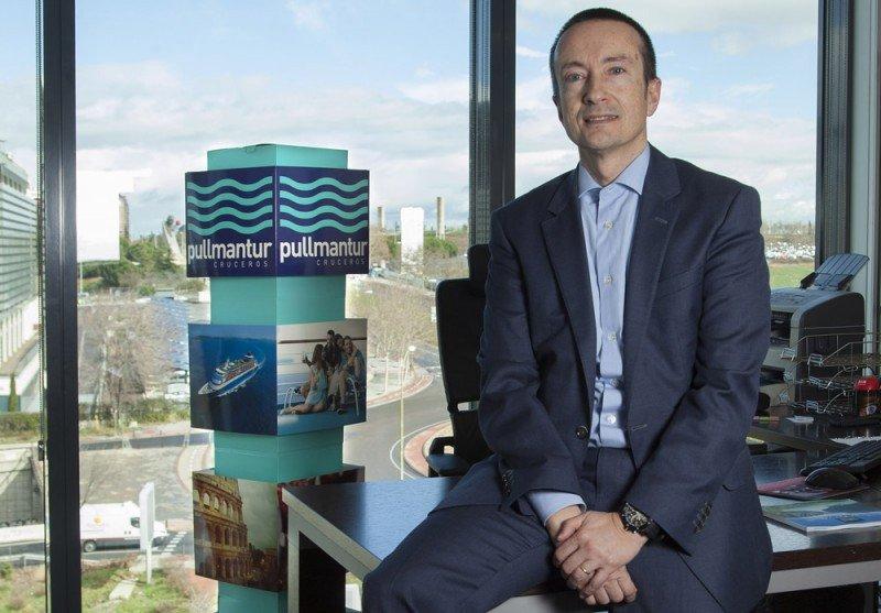 José Blanco, vicepresidente comercial de Pullmantur.