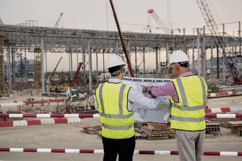 Las obras del nuevo parque temático en la isla de Yas, en Abu Dhabi, ya han comenzado.