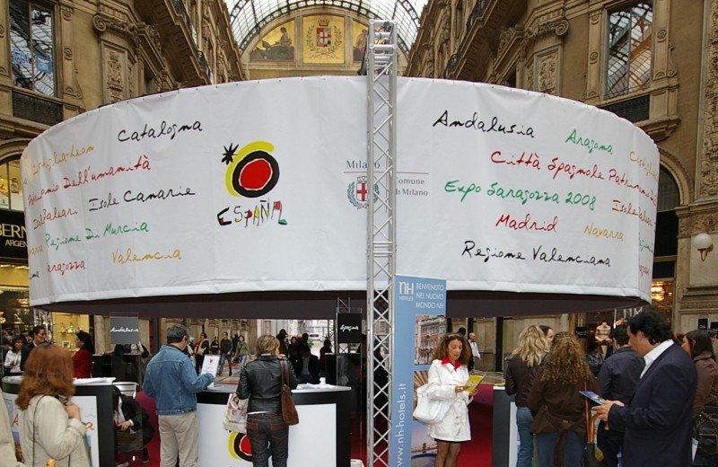 Imagen de archivo de una jornada de promoción turística organizada por Turespaña.