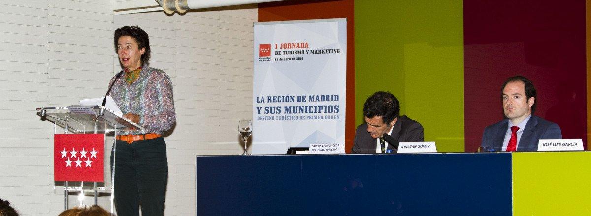 Anunciada Fernández de Córdova, directora de la Oficina de Cultura y Turismo.