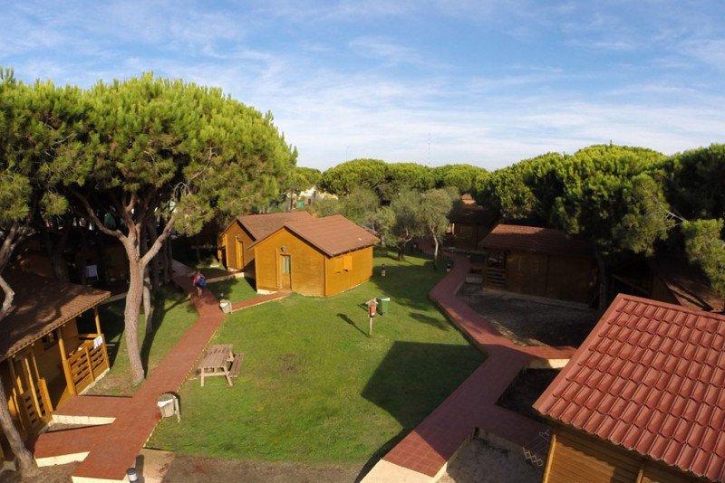 La mayor subida fue para los camping. Foto: Camping Doñana.