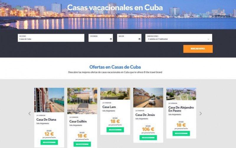 Viajes Barceló ofrece casas particulares en Cuba al mercado español