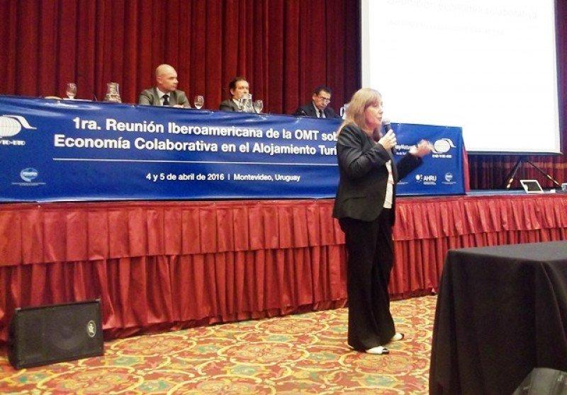 Graciela Fresno, vicepresidenta de la FEHGRA de Argentina.