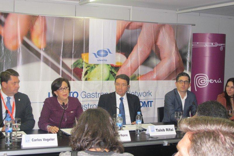 El II Foro Mundial de Turismo Gastronómico había sido presentado en FITUR 2016.