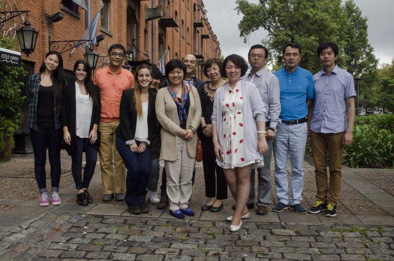 Representantes de siete turoperadores chinos visitaron Buenos Aires.